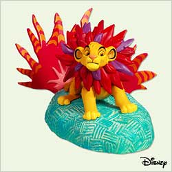 2005 Disney - Mighty Simba Hallmark Ornament