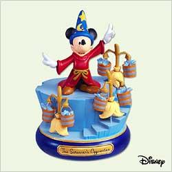 2005 Disney - Sorcerer's Apprentice Hallmark Ornament