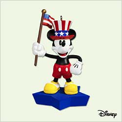 2005 Disney - True Patriot Hallmark Ornament