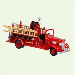 2005 Fire Brigade #3 - 1938 Chevrolet Hallmark Ornament