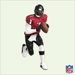 2005 Football #11 - Michael Vick Hallmark Ornament