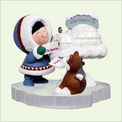 2005 Frosty Friends #26 - Mailbox Hallmark Ornament