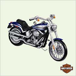2005 Harley Davidson #7 - 2000 Softail Deuce Hallmark Ornament