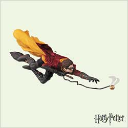 2005 Harry Potter - Quidditch Match Hallmark Ornament