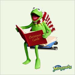 2005 Kermit - A Season To Sing Hallmark Ornament