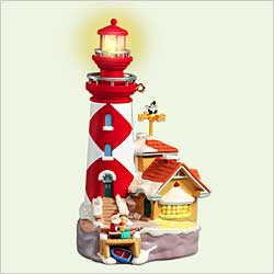 2005 Lighthouse Greetings #9 Hallmark Ornament