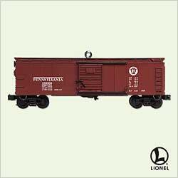 2005 Lionel  - No. 714 Boxcar Hallmark Ornament