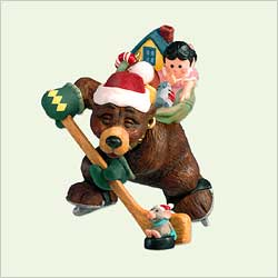 2005 Nick And Christopher #2 - Hockey Hallmark Ornament