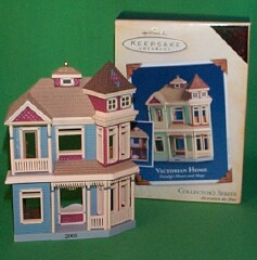 2005 Nostalgic Houses #22 - Victorian - Colorway - MIB Hallmark Ornament