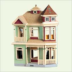 2005 Nostalgic Houses #22 - Victorian Inn Hallmark Ornament