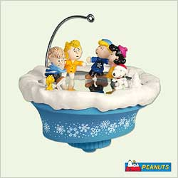 2005 Peanuts - Crack The Whip Hallmark Ornament
