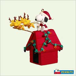 2005 Peanuts - Santa Beagle Hallmark Ornament