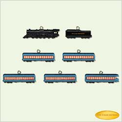 2005 Polar Express - Mini Train Hallmark Ornament