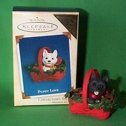 2005 Puppy Love #15 - Colorway - MIB Hallmark Ornament