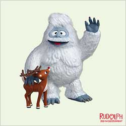 2005 Rudolph And The Abominable Hallmark Ornament