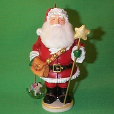 2005 Santa Nutcracker Hallmark Ornament