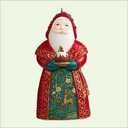 2005 Santas From Around The World - England Hallmark Ornament