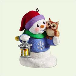 2005 Snow Buddies #8 - Owl Hallmark Ornament