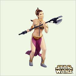 2005 Star Wars #9 - Princess Leia Hallmark Ornament