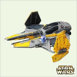 2005 Star Wars - Jedi Starfighter Hallmark Ornament