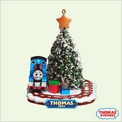 2005 Thomas The Tank - 60 Years Hallmark Ornament