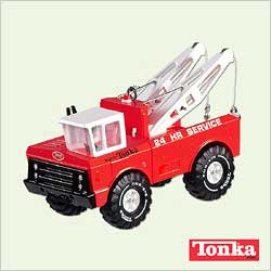 2005 Tonka - Wrecker Hallmark Ornament