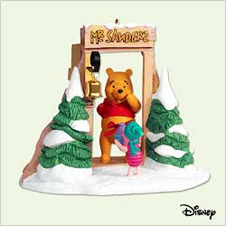 2005 Winnie The Pooh - Gift Exchange - DB Hallmark Ornament