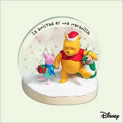 2005 Winnie The Pooh - True Friends - Spanish Hallmark Ornament