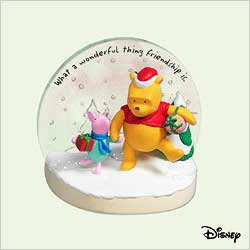 2005 Winnie The Pooh - True Friends Hallmark Ornament