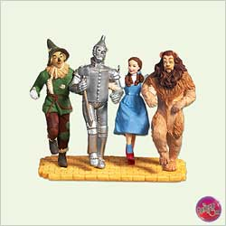 2005 Wizard Of Oz - Off To See The Wizard - MNT Hallmark Ornament