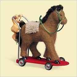 2006 A Pony For Christmas #9 Hallmark Ornament