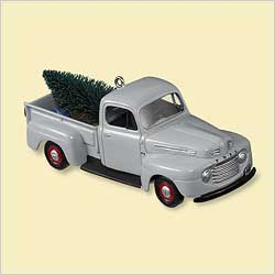 2006 All American Trucks #12 - 1948 Ford F-1 - SDB Hallmark Ornament