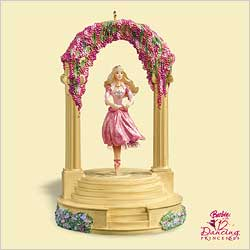 2006 Barbie - Princess Dancing Hallmark Ornament