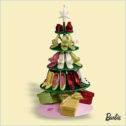 2006 Barbie - Shoe Tree Hallmark Ornament