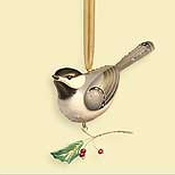2006 Beauty Of Birds #2 - Black-capped Chickadee Hallmark Ornament