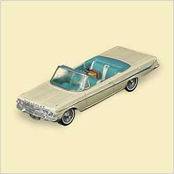 2006 Classic Cars #16 - 61 Impala Hallmark Ornament