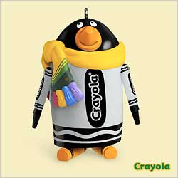 2006 Crayola - Suited Penguin Hallmark Ornament