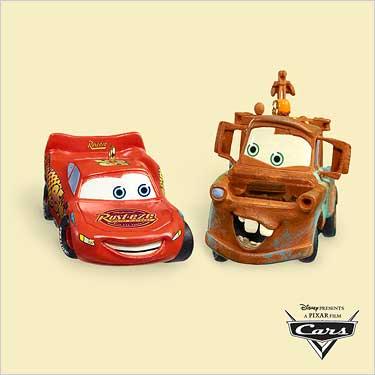 2006 Disney - Pixar - Cars - Lightning Mcqueen - SDB Hallmark Ornament