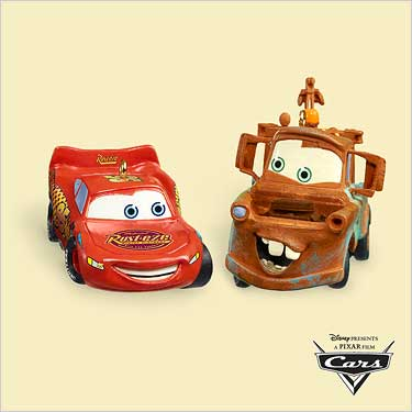 2006 Disney - Pixar - Cars - Lightning Mcqueen Hallmark Ornament