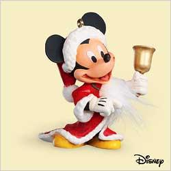 2006 Disney - Ringing In Christmas Hallmark Ornament