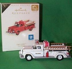 2006 Fire Brigade #4 - 1961 Gmc Engine - Colorway - SDB Hallmark Ornament