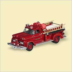2006 Fire Brigade #4 - 1961 Gmc Engine Hallmark Ornament