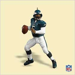 2006 Football #12 - Donovan Mcnabb Hallmark Ornament