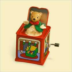 2006 Jack In The Box #4 - Teddy - DB Hallmark Ornament