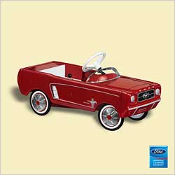 2006 Kiddie Car Classic #13f - 64 Ford Mustang Hallmark Ornament