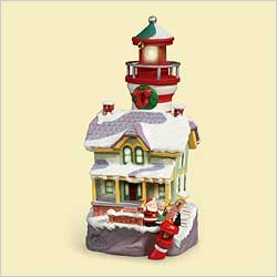 2006 Lighthouse Greetings #10 Hallmark Ornament