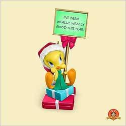 2006 Lt - Twuthful Tweety - SDB Hallmark Ornament