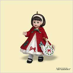 2006 Madame Alexander #11 - Christmas Tea Hallmark Ornament