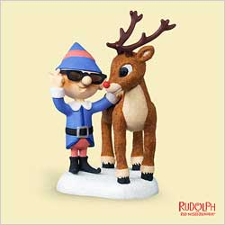 2006 Nose So Bright! - Rudolph Hallmark Ornament