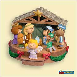 2006 Peanuts - Thats What Christmas Is All About Hallmark Ornament